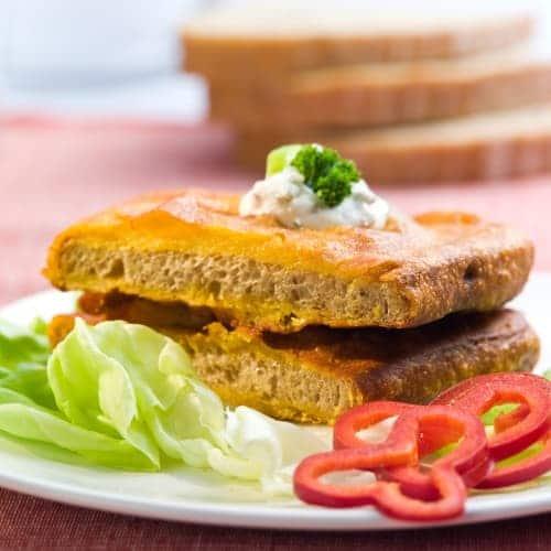 Obalovaný chleba