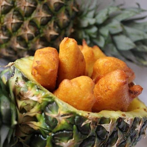 Obalovaný ananas