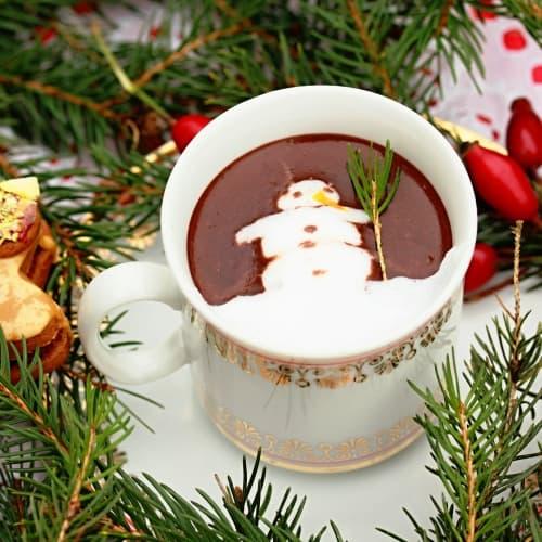 Horká čokoláda s Hraškou Vanilkou