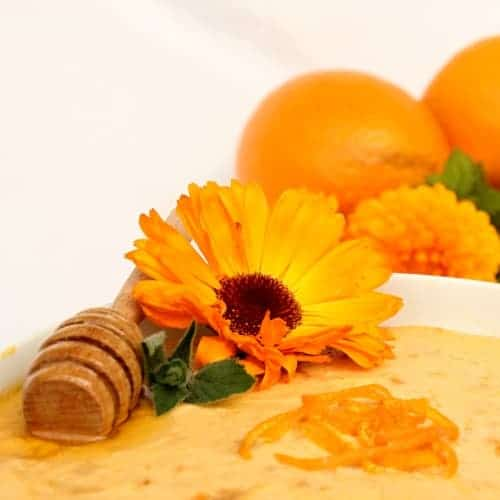Pomerančová pomazánka s medem na sladko
